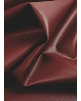 vegan leather - burgundy