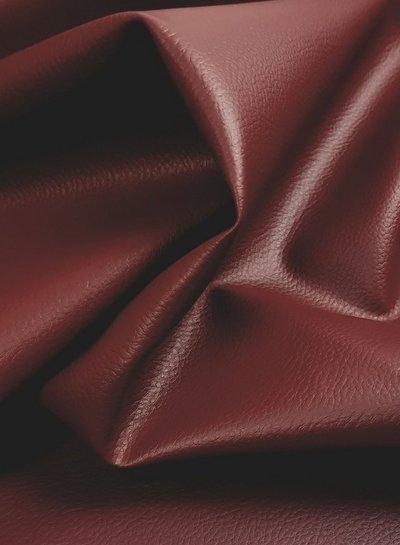 vegan leather - burgundy