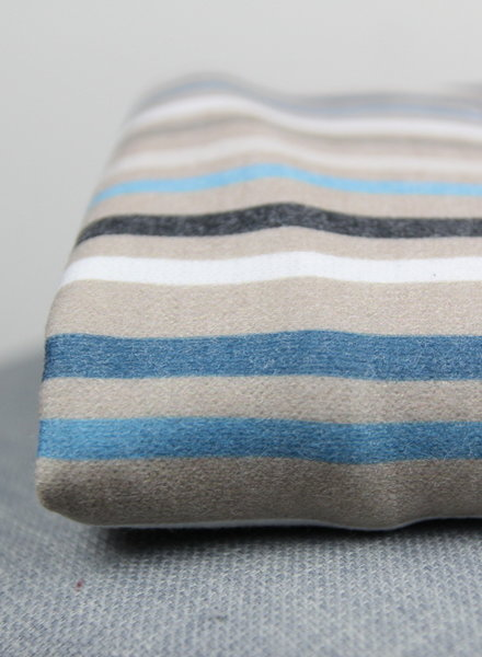 250 cm - verticale strepen gebreide stof