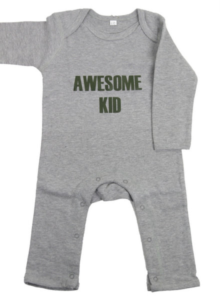 By Madeline Awesome kid - playsuit