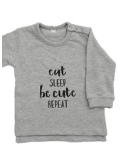 By Madeline Eat, sleep, be cute, repeat - sweater baby