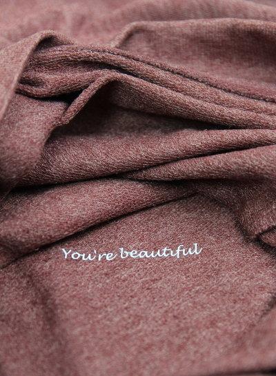 By Madeline Ho-Ho-Hopelijk is er genoeg wijn - sweater mannen