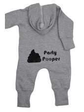 By Madeline Party pooper -  hoodie playsuit