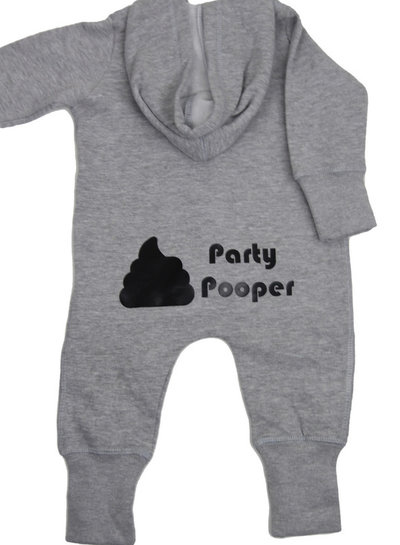 By Madeline Party pooper -  hoodie playsuit