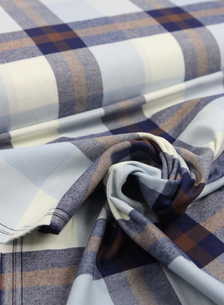 Ralph Lauren checked print coffee - flanel