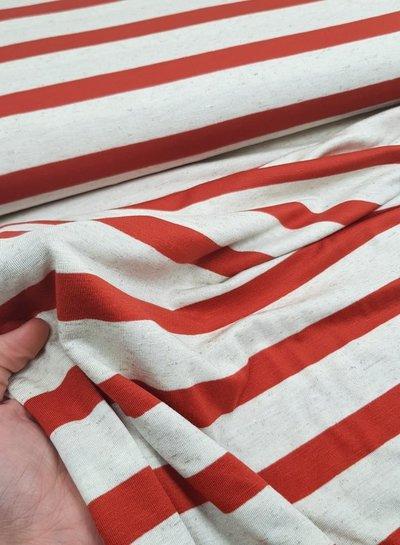 Hugo boss rusty striped - viscose jersey