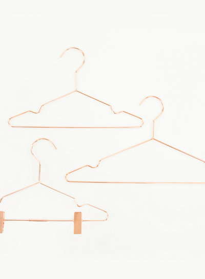 See You at Six Clothes Hanger with Clips