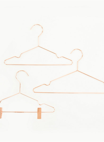 See You at Six Clothes Hanger - Kids - Copper - 5 pieces