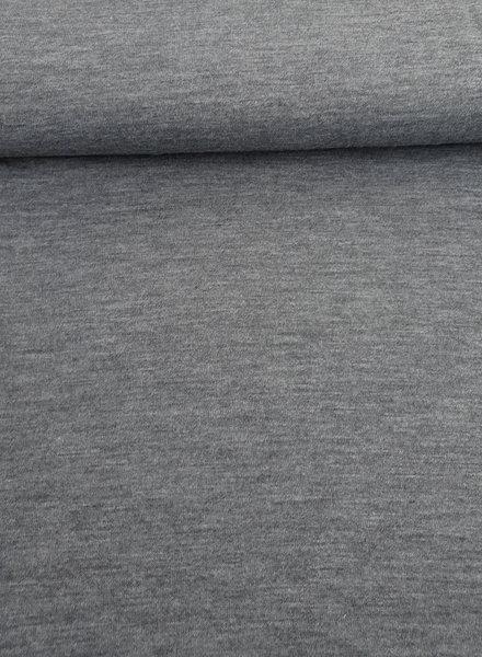 italiaanse grijze -  gebreide stof