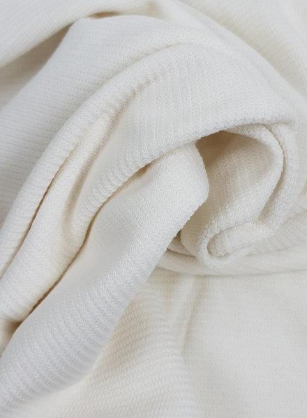 wit -  gebreide stof