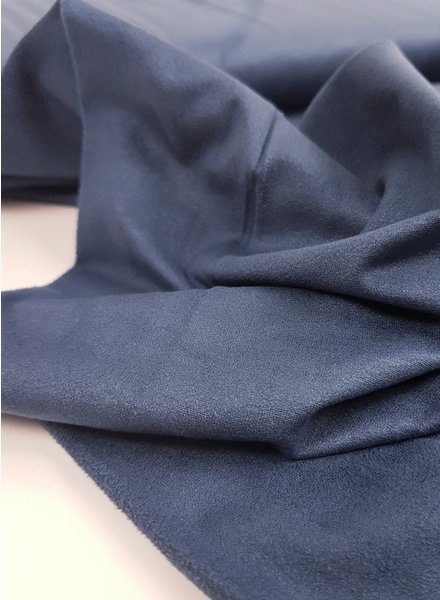 navy blue - suède