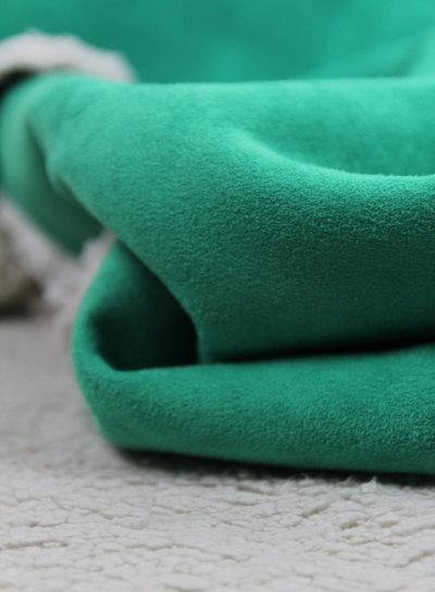 groen - teddy suede