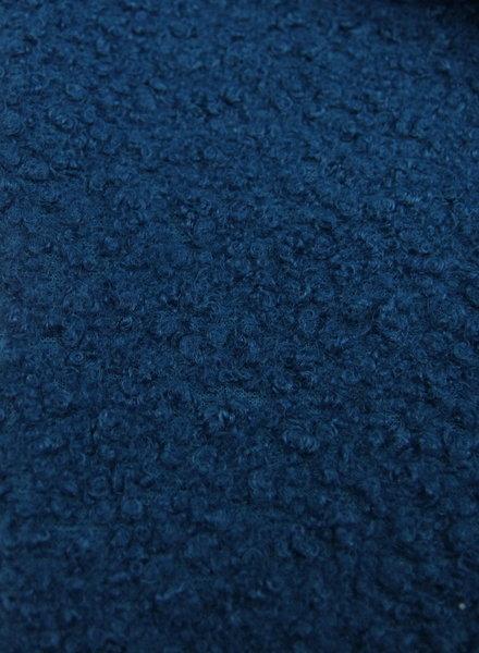petrol blue - bouclé