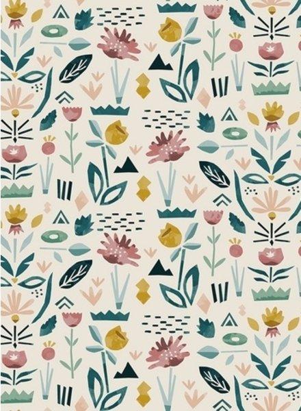 colored garden - katoen