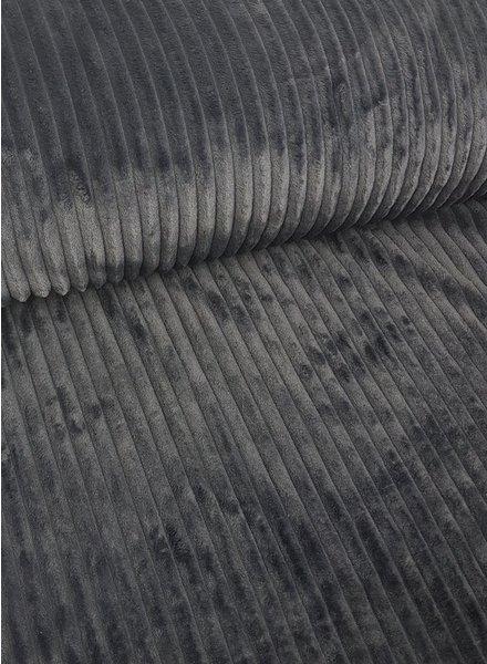 grey  corduroylook fleece