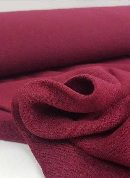 soft knit - Italian quality - bordeaux