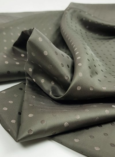 valentino Valentino khaki dots -  viscose / silk lining
