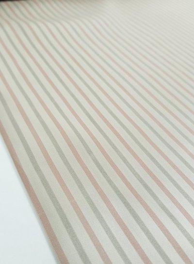 valentino Valentino striped - viscose / silk lining