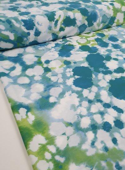 La Perla turquoise dyed swimwear - lycra