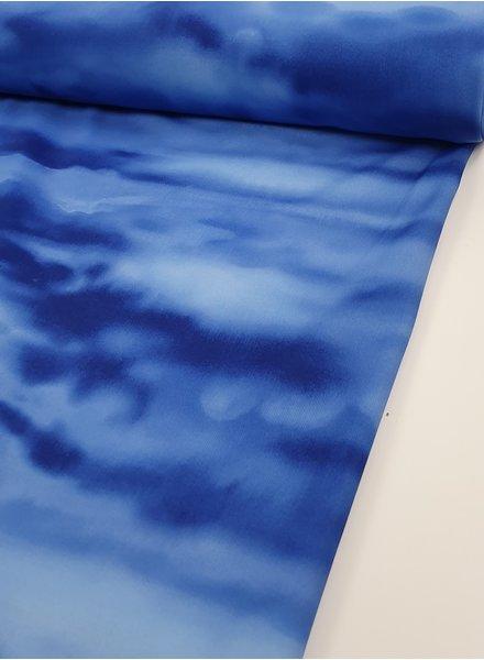 La Perla blue dyed swimwear - lycra