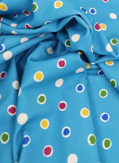 La Perla dots badpakkenstof  - lycra