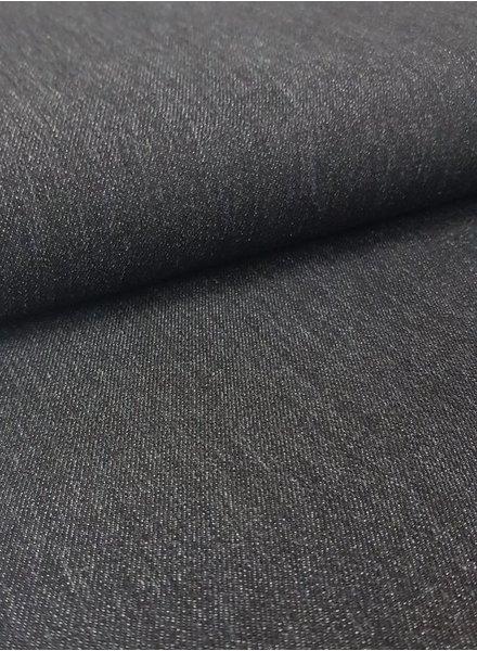 9.5oz - washed denim NON-stretch - vintage black
