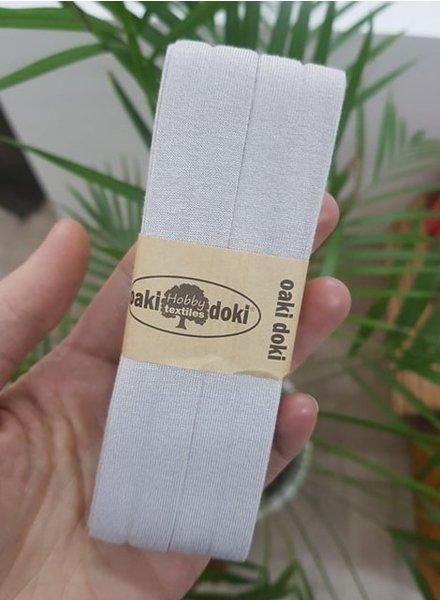 licht zand -  biais tricot 3 meter