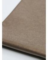 linnen look brons - metallic vegan leer