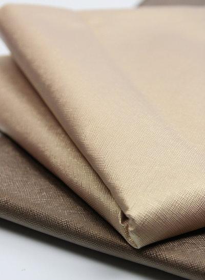 llinen look gold - metallic vegan leather
