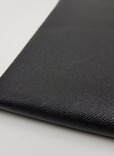snake texture black- metallic vegan leather