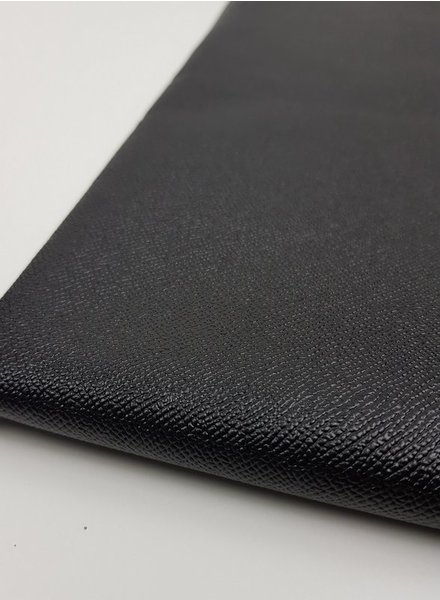 snake texture black- metallic vegan leather