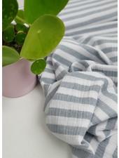 grey stripes -  tetra/double gauze