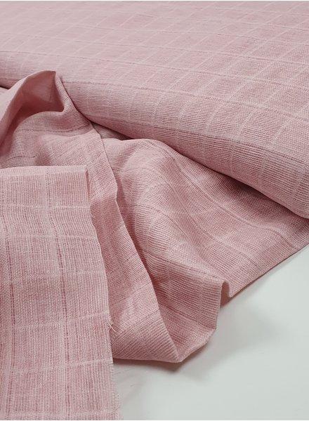 pink - double gauze/tetra