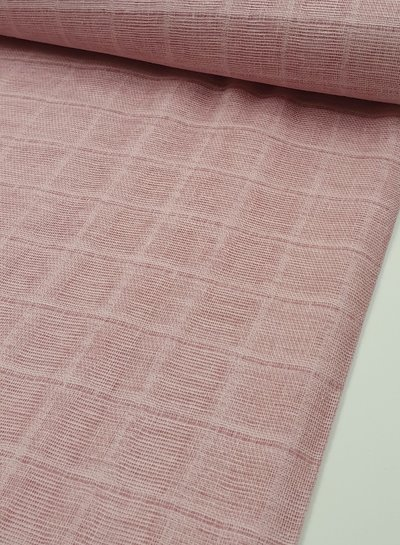 roze - double gauze/tetra/hydrofiel