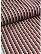 La Maison Victor lmv fuchsia stripes - stretch cotton