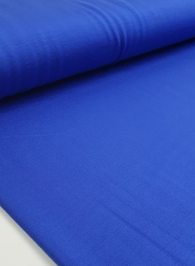 kobalt - bamboe jersey