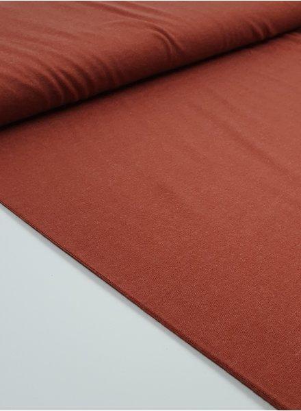 rust soft - viscose jersey