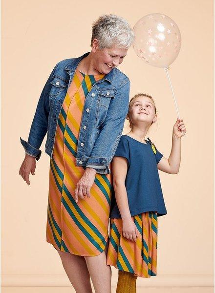 about blue fabrics Golden Mean DIA - Crepe Viscose