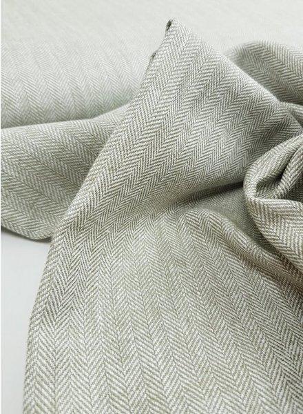 tweed look - linen mix