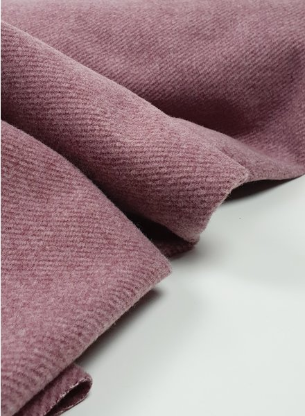 dusty pink - soft coat fabric