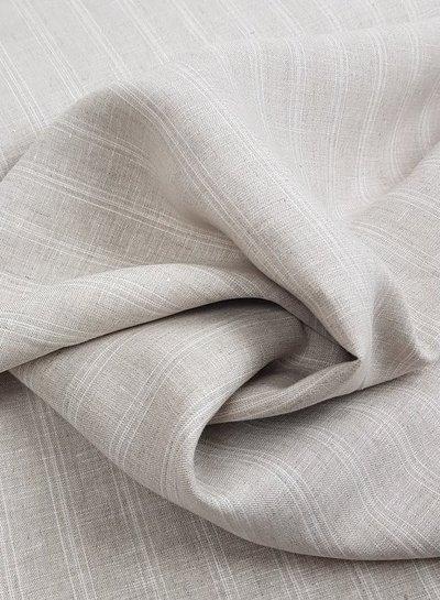 beige stripes - linen