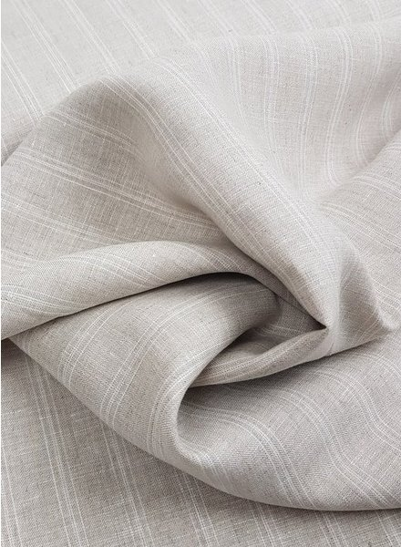 beige stripes - linen