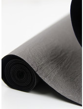 wrinkled grey - vegan metallic faux leather