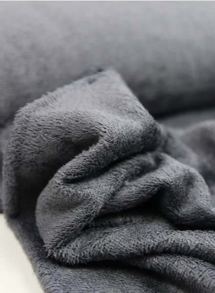 dark grey - bamboo towel fabric