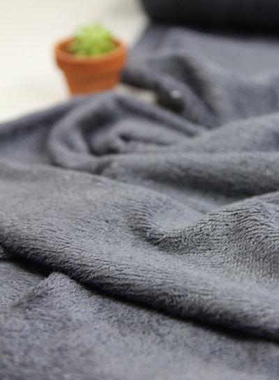 dark grey - bamboo towel fabric