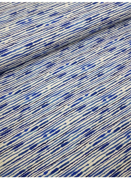 blue stripes  - tricot