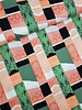 lime bricks - viscose linen look