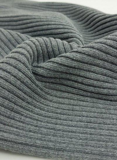 grey - thick ridge ribbing