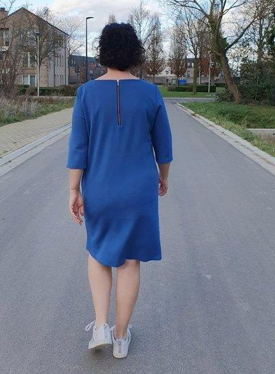 Een kobaltblauwe Gusta