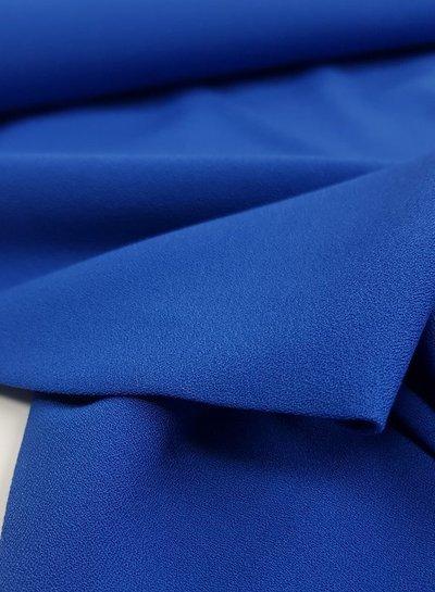 kobaltblauw - crêpe elasthan